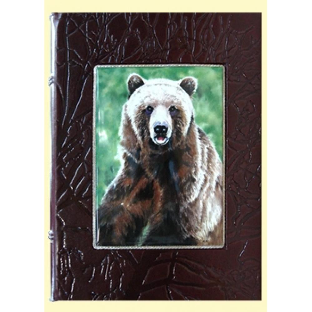Русская охота. Лаковая миниатюра с изображением животных.