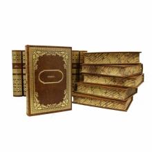 Библиотека Зарубежной Классики в 100 томах в кожаном переплете.