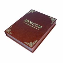 Москва на английском языке в коробе