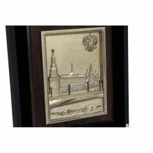 Подарочный набор Москва с плакеткой Москва - Кремль