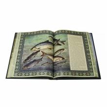 Русская рыбалка в кожаном переплете эксклюзивное издание